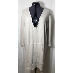 NWT Free People V Neck Beach Coverup Dress